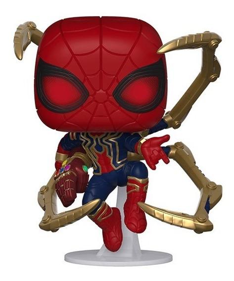 Funko Pop Iron Spider Con Nano Guantelete Avengers Endgame