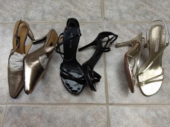 Sapatos Femininos De Festa Scarpin Corello N°33 Originais