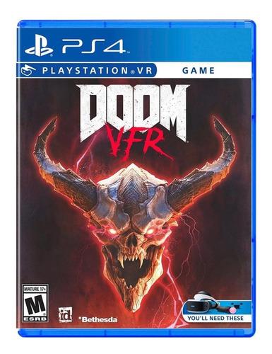 Doom Vr - Mídia Física - Ps4 - Nv
