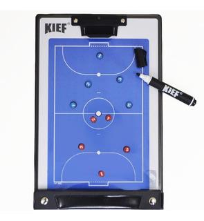 Prancheta Tática Magnética Futsal (salão) Kief - Imã/ Caneta
