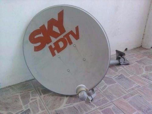 Antena Sky Original Com Lnb Duplo