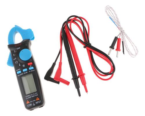 Imagen 1 de 6 de Medidor De Pinza Digital Cables De Prueba Con Estuche