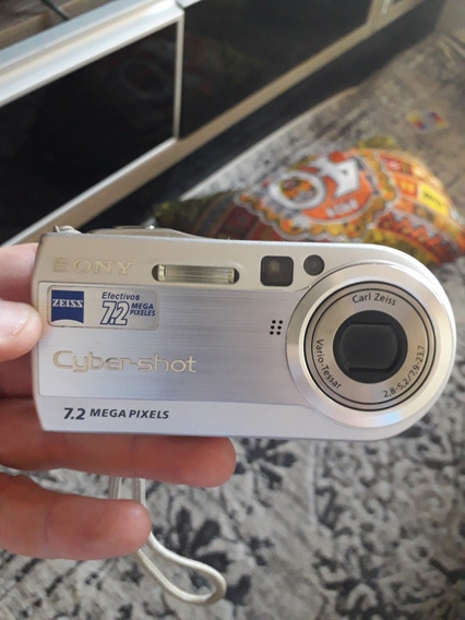 Maquina Cyber-shot Sony Dscp150 Completassa Novinha Na Caixa