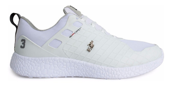 Tenis Hpc Polo White 55