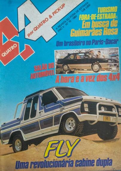 Revista 4x4 Nº16 1984: Salão Do Automóvel