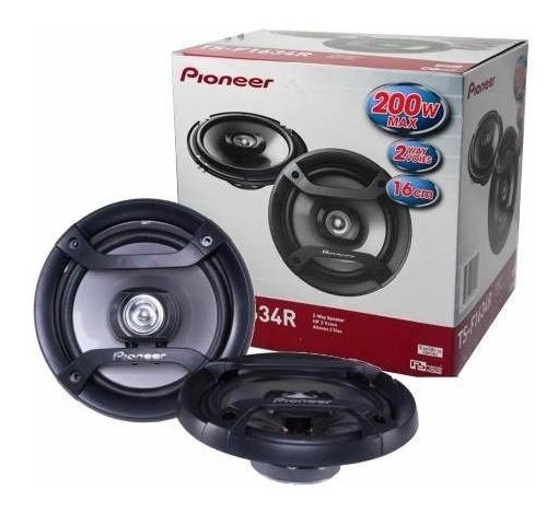 Parlante Pioneer 6.5 Pulgadas 200w 2 Vias Ts-f1634r