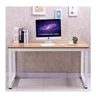 Escritorio Mesa Estructura Metálica Computador 100x50x74cm