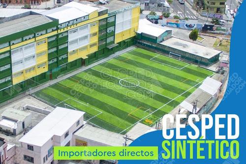 Imagen 1 de 5 de Césped Sintetico Artificial Para Tu Cancha De Fútbol