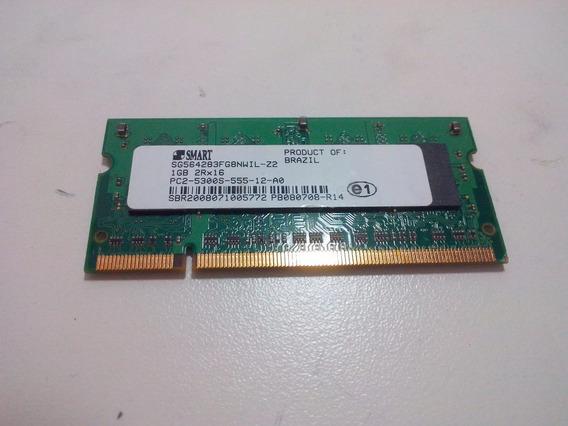 Memoria Ram Notebook Smart 1gb 5300 667mhz Ddr2