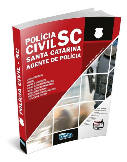Agente De Polícia Civil De Santa Catarina - Sc