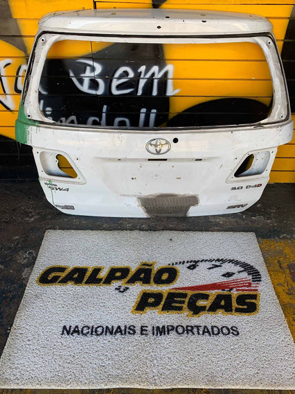 Tampa Traseira Hilux Sw4 2008 2009 2010 2011 2012