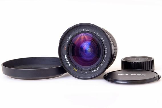 Lente Soligor Af 19-35mm F/3.5-4.5 Para Nikon