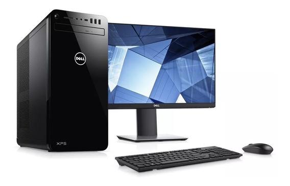Dell Xps 8930 I7 8700 Gtx 1060 6gb 256gb Ssd M2 2tb Hd