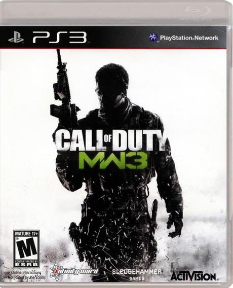 Call Of Duty Modern Warfare 3 Cod Mw3 Ps3 Original Mídia Fis