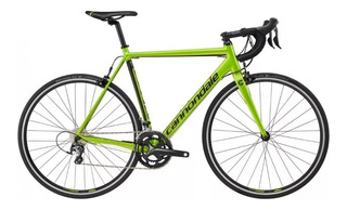 Bicicleta Cannondale Caad Optimo Tiagra 56 Cm - Verde Acido
