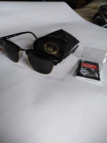 Gafas Ray Ban Club Máster Negro Dorado