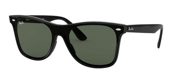 Óculos De Sol Ray Ban Rb4440n 601/71 01-41 Blaze Wayfarer Preto G-15 Original