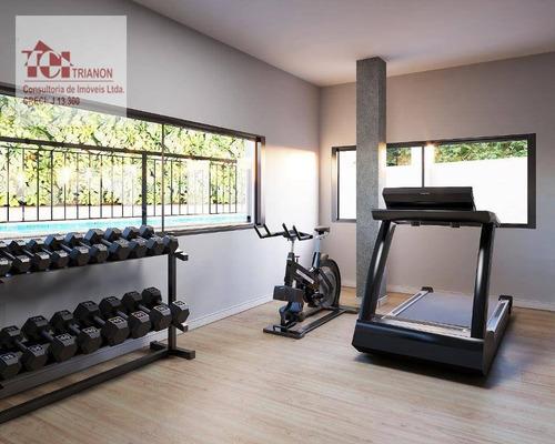 Imagem 1 de 3 de Apartamento Com 2 Dormitórios À Venda, 48 M² Por R$ 452.000,00 - Vila Curuçá - Santo André/sp - Ap2648