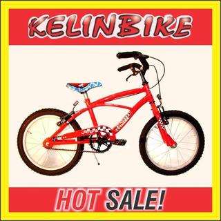 Bicicleta Infantil Playera C/frenos Kelinbike R. 16 + Ruedit