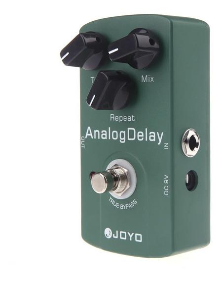 Joyo Jf -33 Analog Delay Guitarra Elétrico Efeito Pedal True