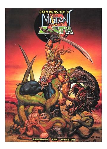 Imagen 1 de 4 de Mutant Earth - Aleta - Simon Bisley - Stan Winston - Alien
