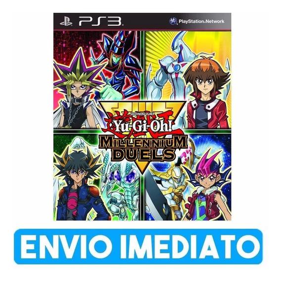 Yu-gi-oh Millennium Duels - Playstation 3 - Instale Já