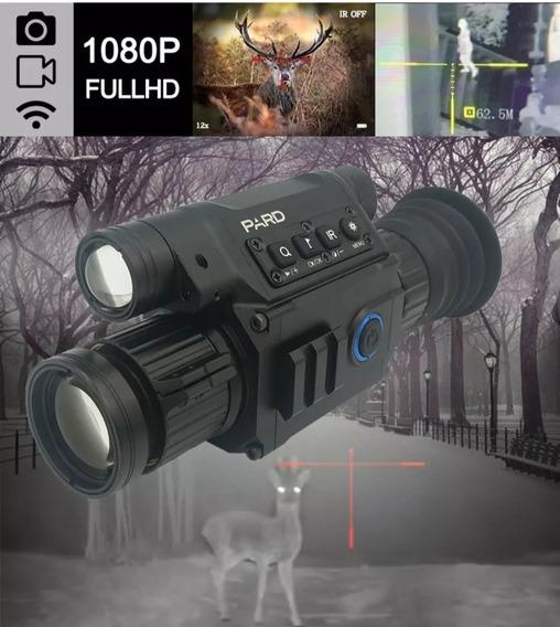Super Luneta Pard Nv008 Visão Noturna Laser Hd Wi-fi Profiss