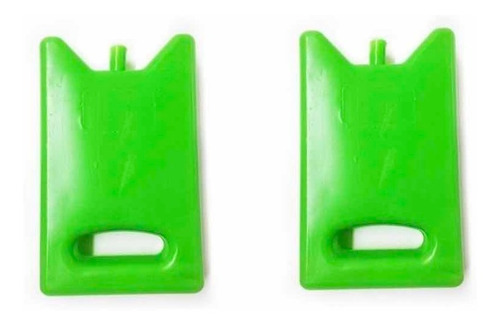 Imagen 1 de 8 de Refrigerante Rigido Gel Grande 500 Gr Conservadora Pack X 2