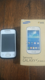 Celular Samsung Y Young Duos Gt S6102b 2 Chip Android Preto