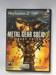Metal Gear Solid 3 Ps2 Juego Original Usado Excelente Estado