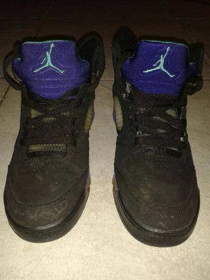 Zapatos Jordan Retro 5 Caballero Talla 42