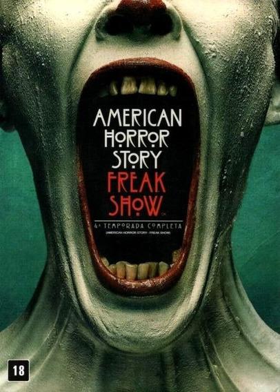 American Horror Story 4ª Temporada - Box Com 4 Dvds - Novo