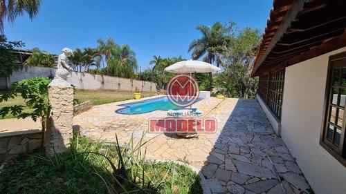 Chácara Com 3 Dormitórios À Venda, 1099 M² Por R$ 585.000,00 - Colinas Do Piracicaba (ártemis) - Piracicaba/sp - Ch0207