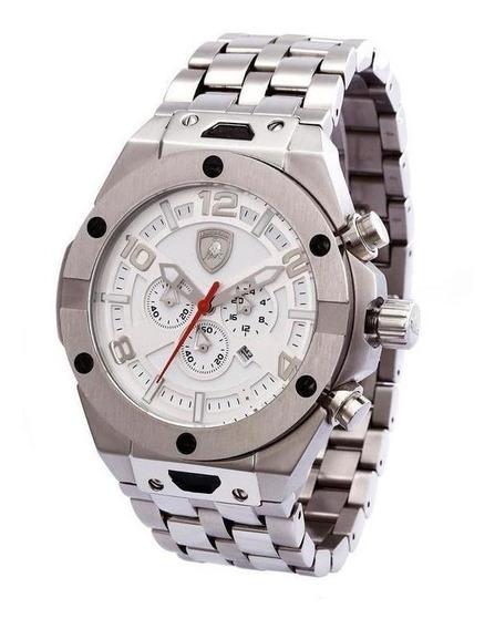 Relógio Lamborghini Lb90051653m Masculino Prata