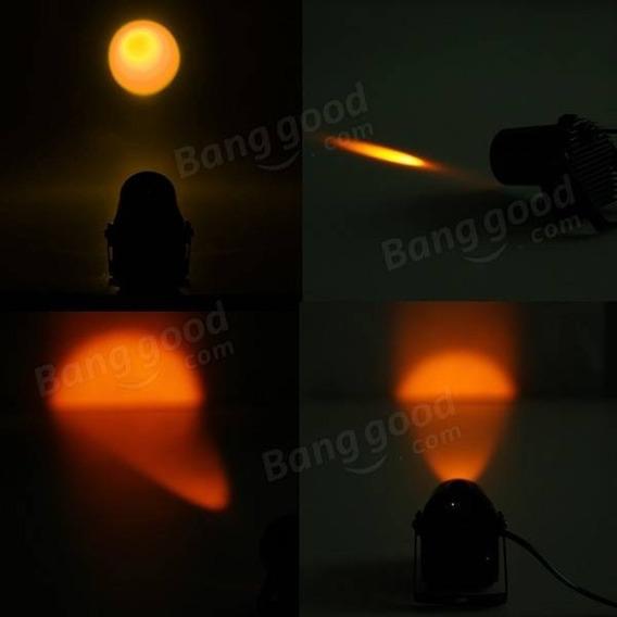 Canhão Pinspot Led 3w Âmbar Laranja Para Globo De Espelho