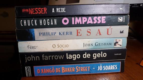 Lote 6 Livros Literatura Diversos 03