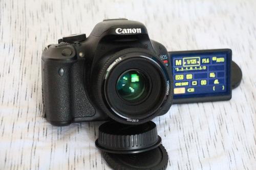 Canon T3i 600d Com Lente 50mm. A Vista 1499.
