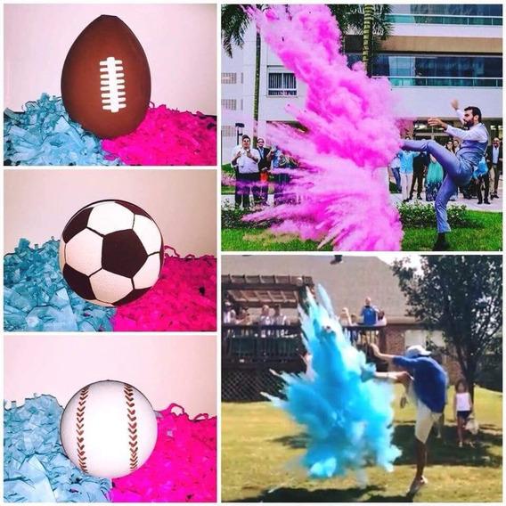 Balon Futbol Americano Gender Reveal Revelacion De Genero