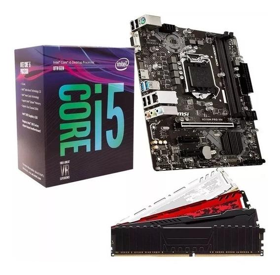 Kit Gamer 8ªgeração I5 8400 H310m Ddr4 8gb Ram Lançamento