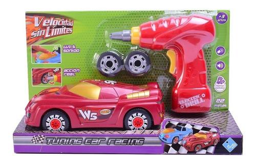 Auto Desarmable Con Destornillador Luz Y Sonido Art 7214
