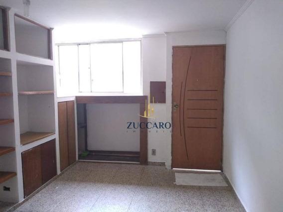 Apartamento Com 2 Dormitórios Para Alugar, 62 M² Por R$ 1.000/mês - Parque Cecap - Guarulhos/sp - Ap14243