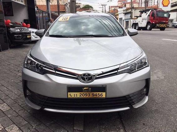 Toyota Corolla Xei 2018 Único Dono