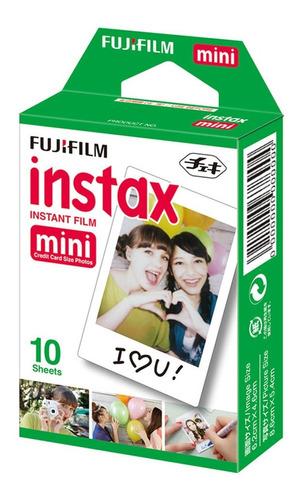 Filme P/ Instax Mini 9 8 7s 90 70 Pack Com 10 Fotos