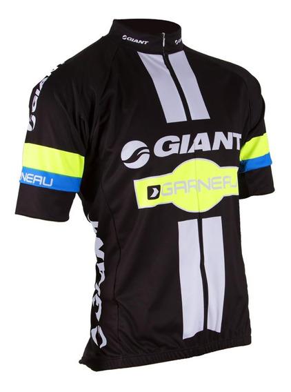 Jersey Remera Ciclismo Bicicleta Giant Garneau Manga Corta