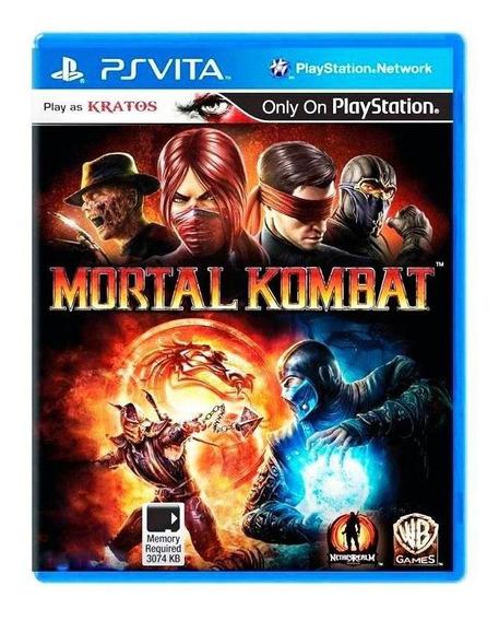 Mortal Kombat Ps Vita Mídia Física Pronta Entrega