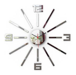 Relógio Grande Parede Espelho 55cm