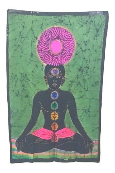 Tecido Indiano Pano Decoração Budismo Buda