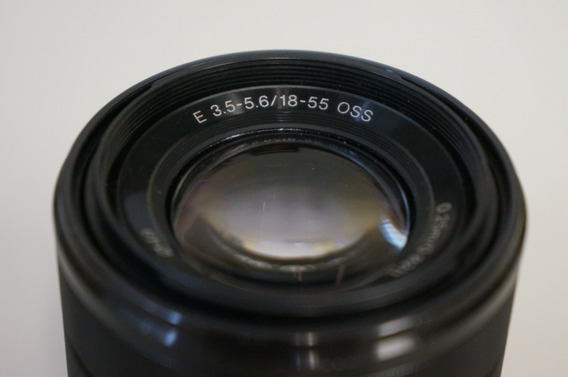 Lente Sony E Mount 18-55mm