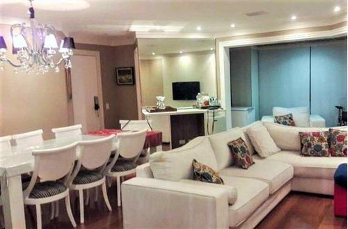 Imagem 1 de 30 de Apartamento À Venda, 120 M² Por R$ 1.499.000,00 - Anália Franco - São Paulo/sp - Ap5461