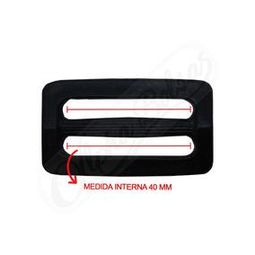 Regulador De Alça 40 Mm Retangular Plástico Pacote 200 Unid